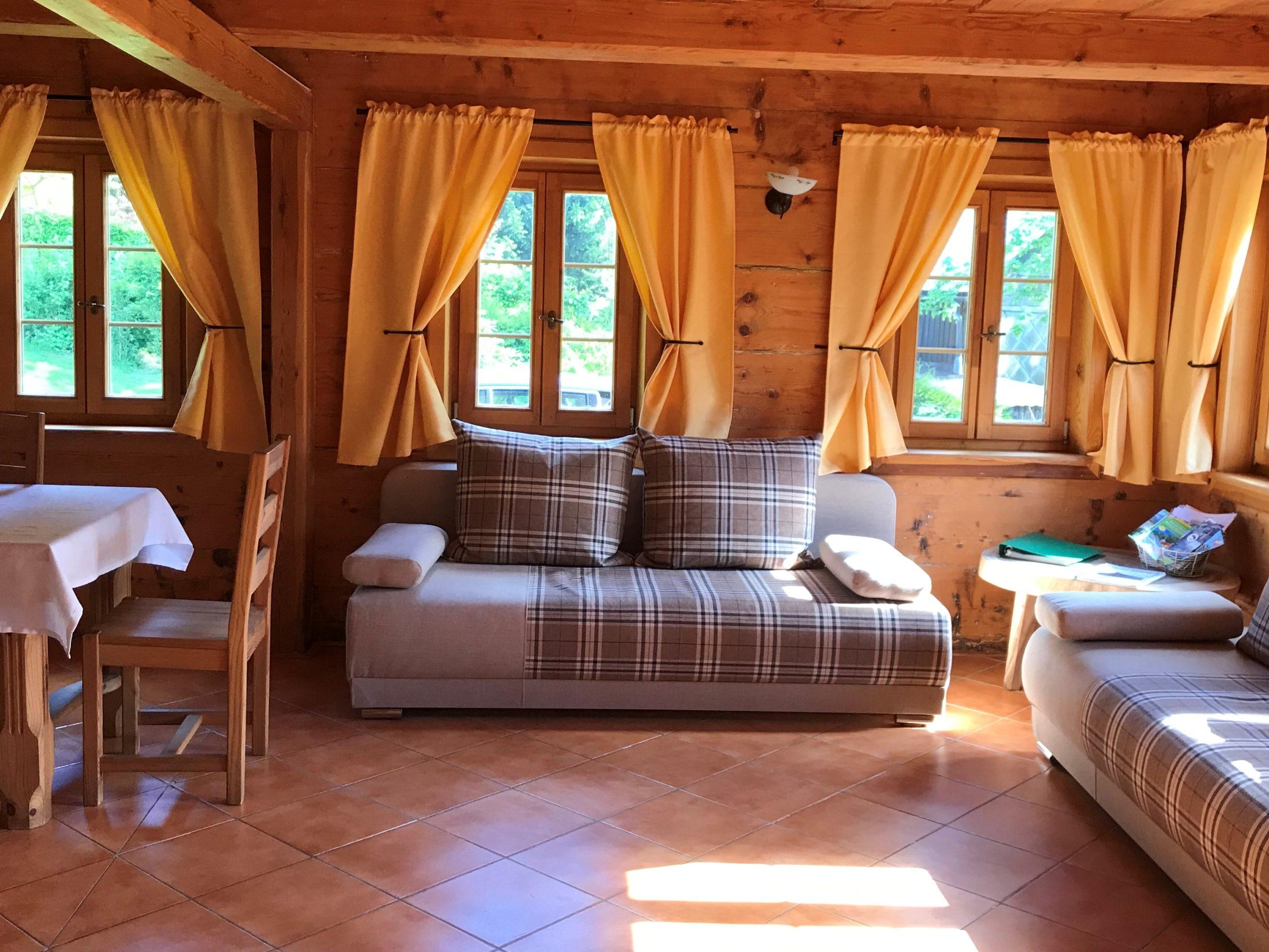 Obývací pokoj Chalupa Lužické hory